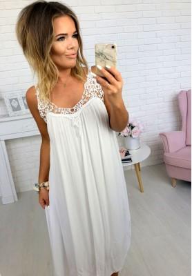Sukienka Boho Canyon Biała