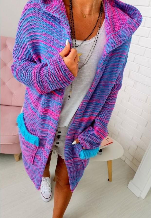 Sweter Kardigan Nikki Blue