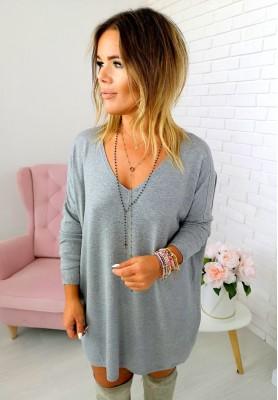 779 Sweter Lisa Szary