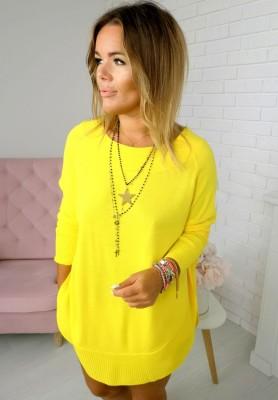 19 Sweter Aida Żółty