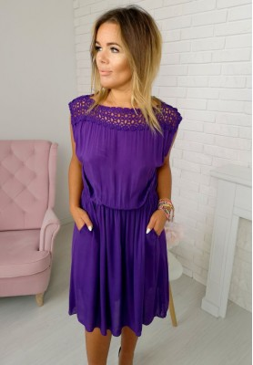 Sukienka Clarise Fiolet