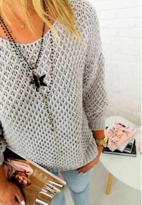 Sweter Mariah Szary