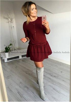 Sukienka Emi Bordo