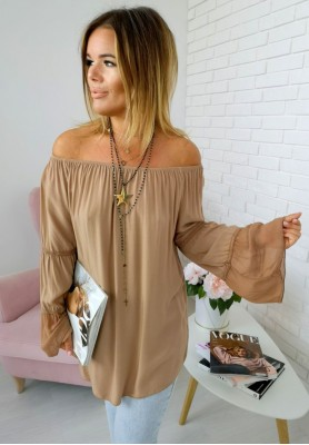 Bluzka Boho Luiza Camel