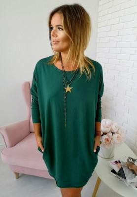 Sukienka Tunika Cler Zieleń