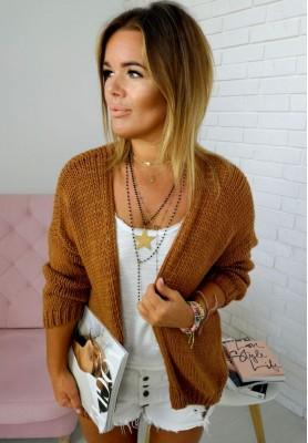 Sweter Kardigan Bonita Camel