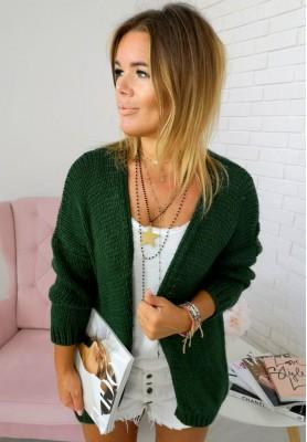 Sweter Kardigan Bonita Zieleń