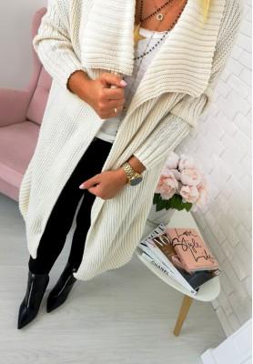 Sweter Kardigan Bolonia Beż