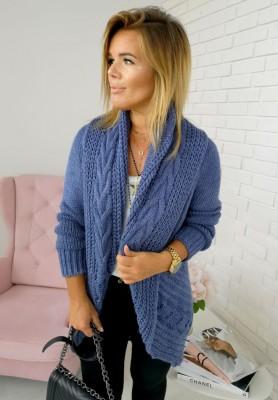 Sweter Kardigan Ring Jeans
