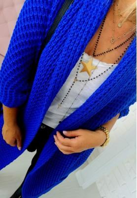 Sweter Kardigan Moi Kobalt