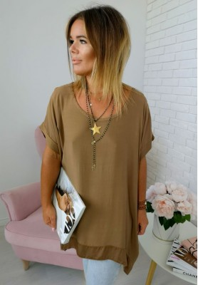 Bluzka Tunika Vassa Camel