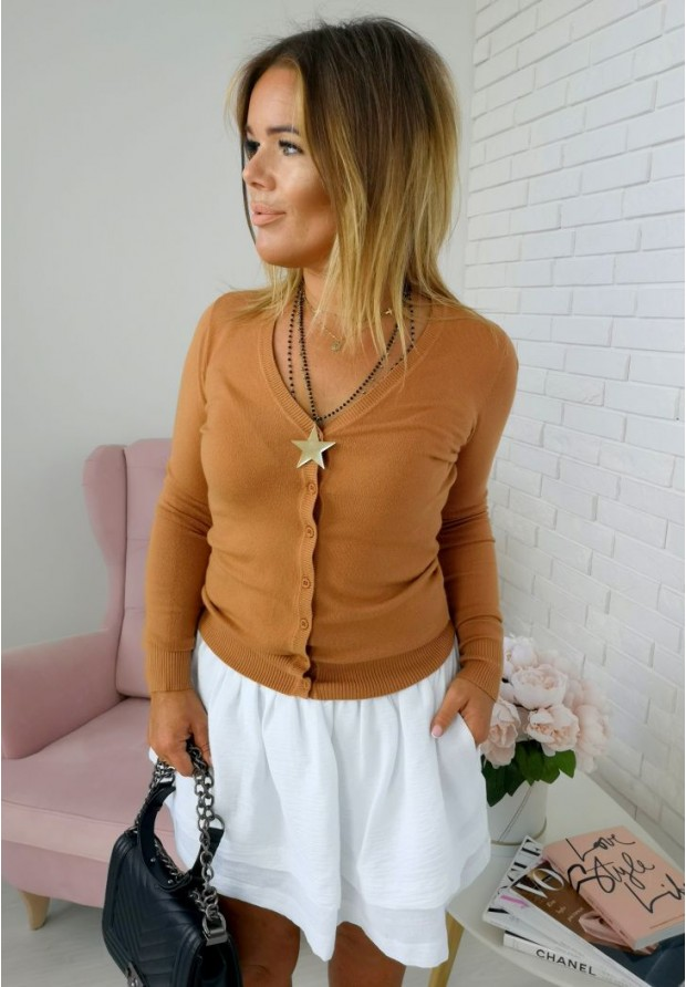 Sweter Classic Camel