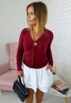 Sweter Classic Marsala