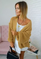 Sweter Kardigan Delice Camel