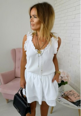 Top Frill White