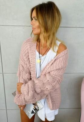 Sweter Kardigan Bonnie Puder