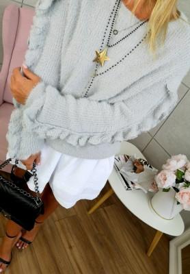 SC071 Sweter Chiara Szary