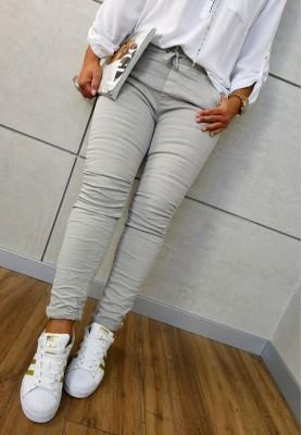 8139 Spodnie Baggy Szare