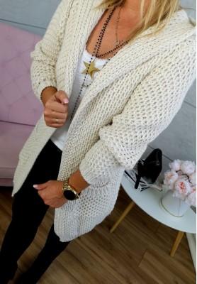 Sweter Kardigan Florence Beż