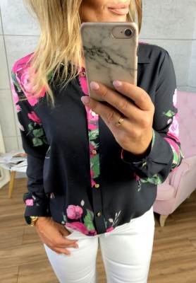 Koszula Black Roses