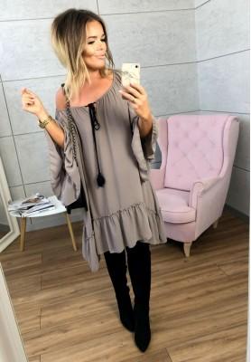 Sukienka Heather Mokka