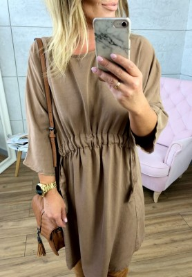 Sukienka Anabell Camel