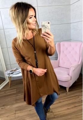 Bluzka Tunika Grace Camel