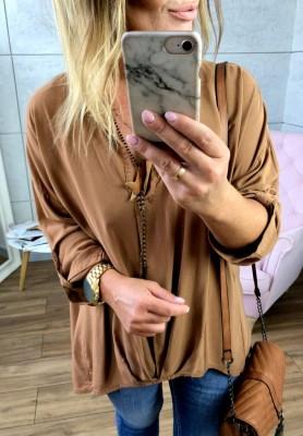 Koszula Oversize Camel