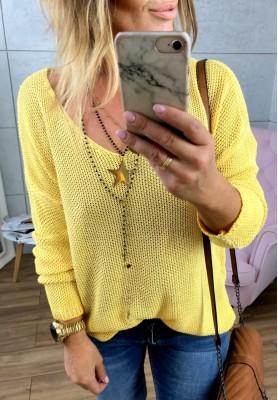 Sweter Rust Yellow
