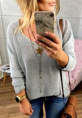 Sweter Rust Grey