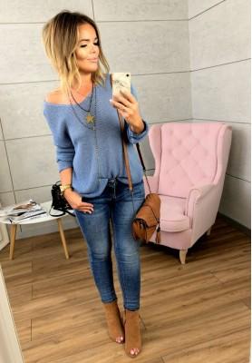 7068 Spodnie Zip Jeans