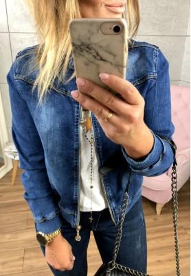 009 Kurtka Bomberka Jeans