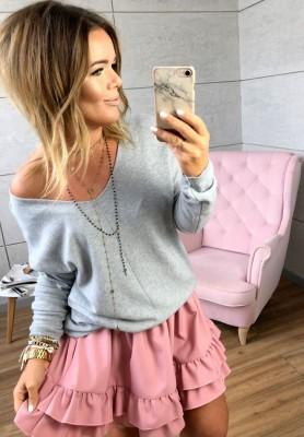 Sweter Jasmine Szary