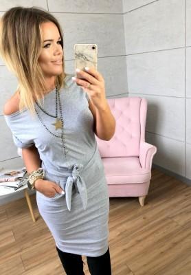 Sukienka Bella Szara