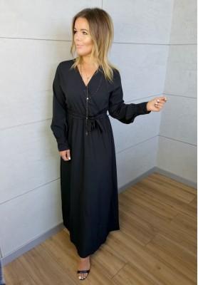 Sukienka Maxi Silk Czarna
