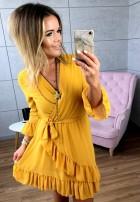 Sukienka Just Musztarda