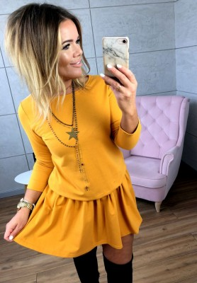 Sukienka Emi Musztarda