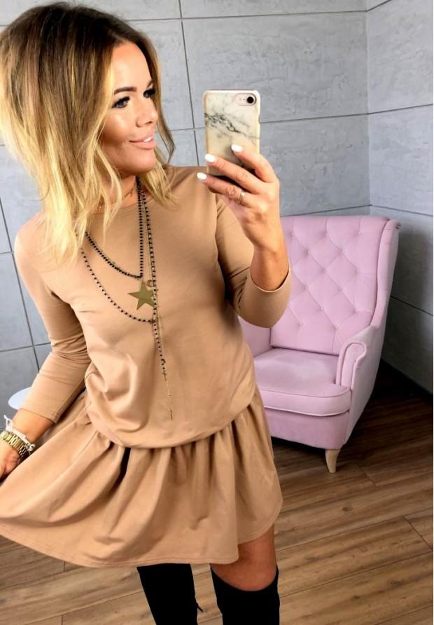 Sukienka Emi Camel