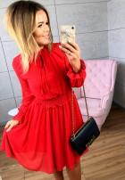 Sukienka Carmine Czerwona