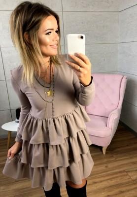 Sukienka Hose Mokka