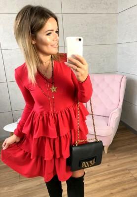 Sukienka Hose Czerwona