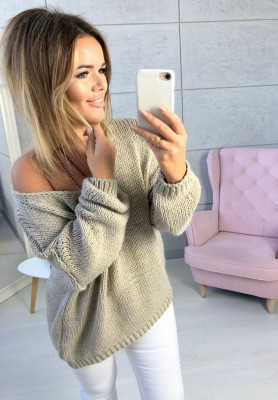 Sweter Chiocco Nude