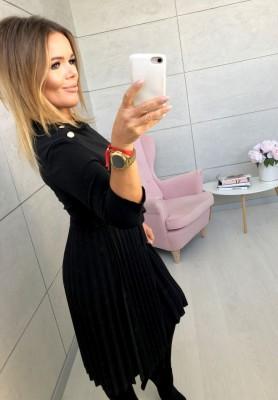 Sukienka Button Czarna