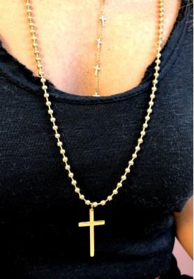 Naszyjnik Złoty Krzyż