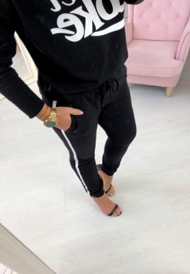 Spodnie Sporty Czarne