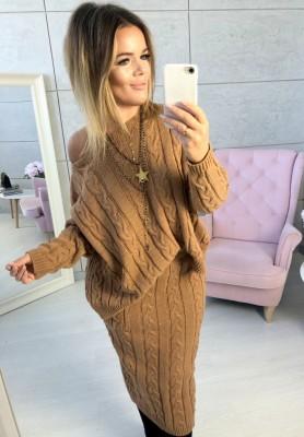 Sweter Catia Camel