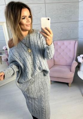 Sweter Catia Szary