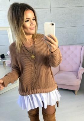 Sweter Gusto Camel