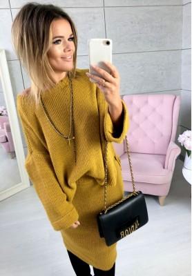 Sweter Freya Musztarda