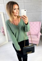 Sweter Daisy Khaki